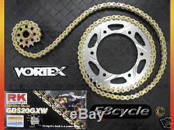 06-16 R6 VORTEX Sprocket / RK Chain 520 Conversion Kit 2007 2008 2009 2010 2011