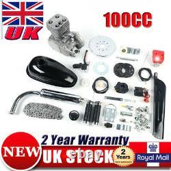 100CC 2 Stroke Petrol Engine DIY Conversion Kit For Motorised Mountain Bike UK