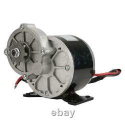 12V 250W Gear Reduction Electric Motor Sprocket Brushed DC Motors Reductor