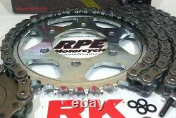 2002-13 Yamaha TDM900 RK 530 Conversion 15/42 Quick Accel Chain and Sprocket Kit