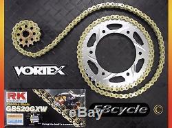 98-14 R1 VORTEX Sprocket / RK Chain 520 Conversion Kit 2008 2009 2010 2011 2012