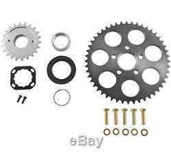 Bolt On Chain Conversion Kit Rear Wheel Sprocket Harley Dyna Softail 2006-2017