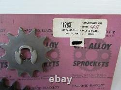 C. T. Alloy 12t/48t Sprocket Conversion Kit- Honda Cb/cl/mt/sl/st/tl/xl (2952)