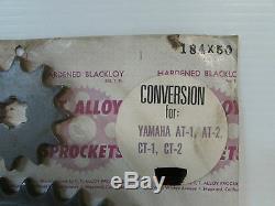 C. T. Alloy 50t Sprocket Conversion Kit Yamaha At Ct Dt 1 2 3 125 175 (3049)