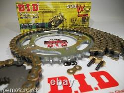CBR600F4i 2001-06 DID X-Ring 530 conversion CHAIN AND SPROCKET KIT F4i