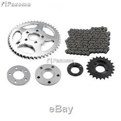Chain Drive Transmission Sprocket Conversion Kit For Sportster Models 2000-Up
