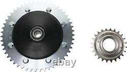 Cush Drive Chain Conversion Kit 51 Tooth Rear Sprocket Harley Tri Glide 2009-20