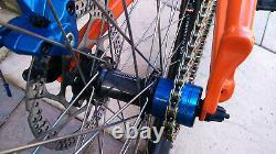 DMR Single Speed Convertor Kit complete 16t sprocket spacers Tensioner bolts