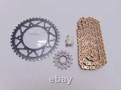 EK Yamaha YZF-R1 Chain and Sprocket 520 Kit Conversion Kit
