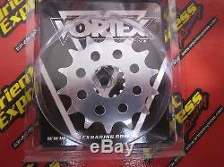 Kawasaki ZX10R 520 Conversion Kit, EK ZVX3 chain, Vortex sprockets