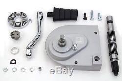 Kick Starter Conversion Kit, Fits Sportster/XL 1991-2003, Aluminum Sprocket Cover