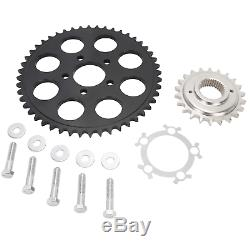 Lowbrow Customs Chain Conversion Kit Black 95-03 Harley 883 Sportster XL USA