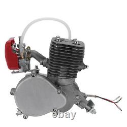 Motorised 2-stroke 100cc Engine Petrol Bicycle Bike Conversion Kit Pedal Start U