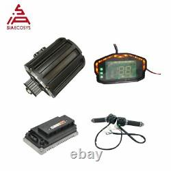QSMOTOR 2000W Mid drive motor with controller and kits for electric Dirt bike