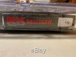 RK 3106-078RG Vortex Sprocket GB520GXW Gold Chain 520 Race Conversion Kit GSXR
