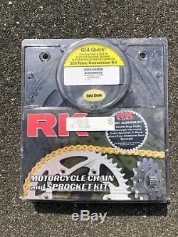 RK 520 Chain & Sprocket Race Conversion Kit 04-05 GSXR 600