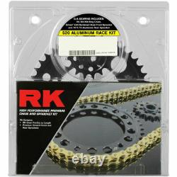 RK GXW XW-Ring 520 Conversion Race Chain/Sprocket Kit (16/47) Gold 9101-128DG