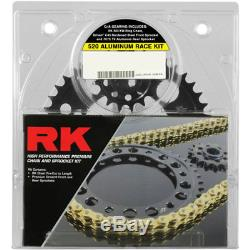 RK XSO RX-Ring 520 Conversion Race Chain/Sprocket Kit (15/45) Gold 3066-118DG
