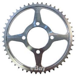 Rear 14 Wheel Conversion Kit Sprocket Bearings for Yamaha TTR125 00-01 to 02-Up