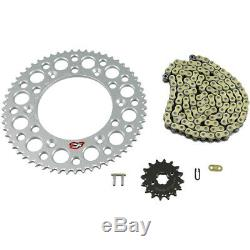 Renthal 520 to 428 Chain & Sprockets Conversion Kit 16T Front/59T Rear (K044)