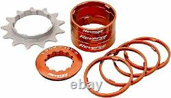 Reverse Single speed conversion kit with 13 sprocket components