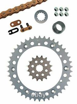 SR500 Racing Chain Kit 520 Drive Conversion 16T Front 42T Rear Sprocket 2-256