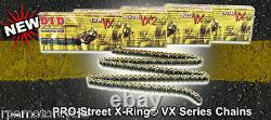 SUZUKI SV650'99/13 530 CONVERSION DID X-Ring CHAIN AND SPROCKETS KIT OEM +