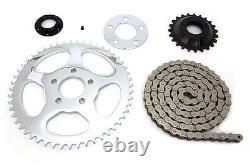 Transmission sprocket conversion kit, belt to chain, Sportster XL 2000-06