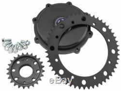 Twin Power Chain Conversion Kit Cush Drive 4655 Drive Sprockets Harley Fl 08-20