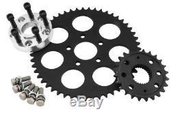 Twin Power Harley FLH, FLT, FXD, FXR Chain Belt/Sprocket Conversion Kits 4661