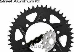 Vortex CK2249 GFRA Go Fast 520 Conversion Chain and Sprocket Kit