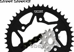 Vortex CK6134 GFRS Go Fast 520 Street Conversion Chain and Sprocket Kit