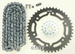 Vortex CK6341 HFRS Hyper Fast 520 Street Conversion Chain and Sprocket Kit