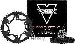 Vortex HFRS Hyper Fast 520 Conversion Chain/Sprocket Kit 15/45/114 GSXR600 06-10
