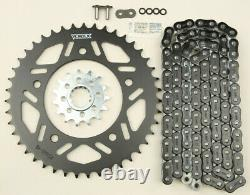 Vortex HFRS Hyper Fast 520 Street Conversion Chain and Sprocket Kit Gold CK6377
