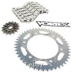 Vortex HFRS Hyper Fast 520 Street Conversion Chain and Sprocket Kit Gold CKG6307
