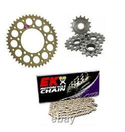 Yamaha R6 5EB 98 99 00 01 02 Renthal & EK Chain & Sprocket Kit 530 Conversion