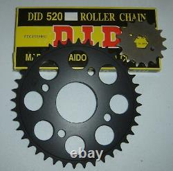 Yamaha RD350 RD250 R5 DS7 520 Conversion Chain/Sprocket Kit Free Shipping