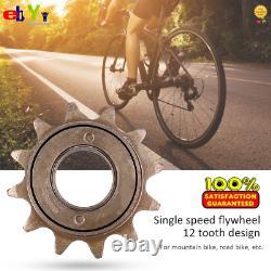 12t Metal Single Flywheel Freewheel Rear Sprockets Parts For Mountain Bike