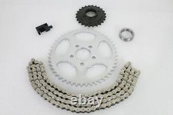 Bolt On Chain Conversion Kit Roue Arrière Sprocket Harley Touring Bagger Flh 00-06