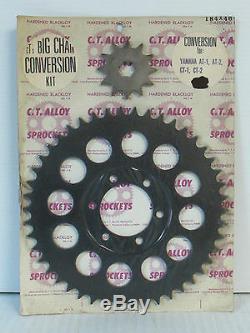 C. T. Alliage 46t Pignon Kit De Conversion Adapter Yamaha At Ct Dt 1 2 3 125 175 (3058)