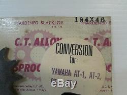 C. T. Alliage 46t Pignon Kit De Conversion Yamaha A Ct Dt 1 2 3 125 175 (3044)