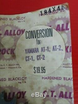 C. T. Alliage 48t Sprocket Kit De Conversion Yamaha A Ct 1 2