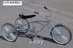 Chrome Tricycle Conversion Kit 5/8 Essieu Hollow Hub Fixe Sprocket Nouveau