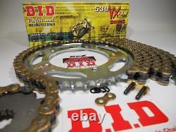 DID X-ring Suzuki Dl650 V-strom Chain Et Sprocket Kit Premium 530 Conversion