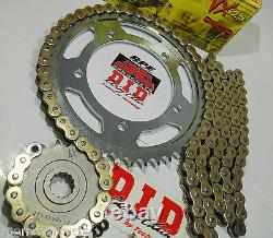 Ducati 750ss'99/02 DID 525 Gold Chain And Sprockets Kit Premium 525 Conversion