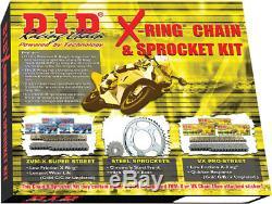 Kit Chaîne / Pignon De Conversion DID VX Pro-street X-ring 530 (16/48) Dky-003