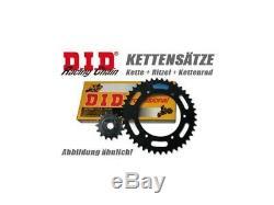 Kit De Conversion DID 520 Cbr 600 F (pc25), 91-98, Pignon En Aluminium