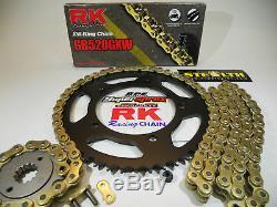 Kit De Conversion De Chaîne Et De Pignon Rk Quick Acceleration 520 Pour 2004-2005 Yzf R1