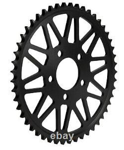 Kit De Conversion De Chaîne Superlite Pignon D'or Noir Xw-ring 06-17 Harley Dyna